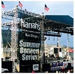 Large Mesh Concert Banner